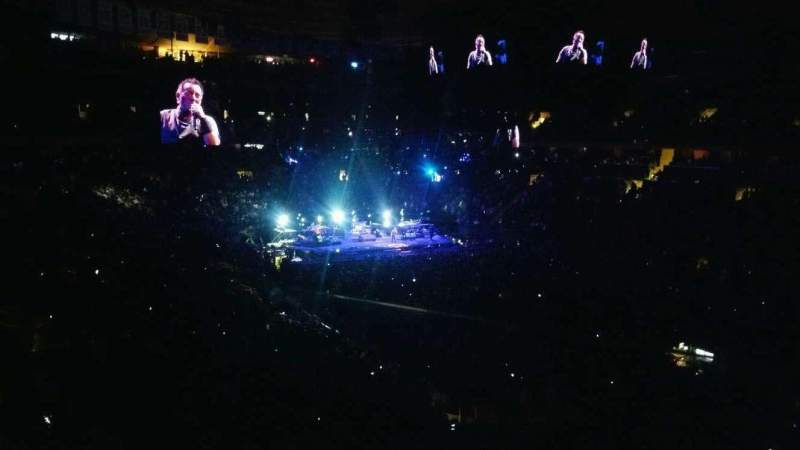 Madison Square Garden, section: 227, row: 1, seat: 18