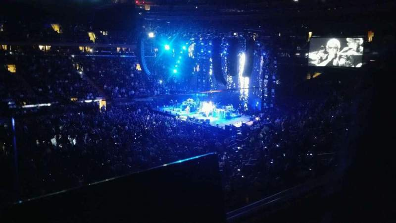 Seating view for Madison Square Garden Section 210 Row 1