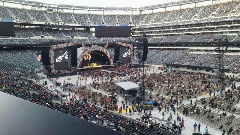 Seating view for MetLife Stadium Section 233 Row 1 Seat 6