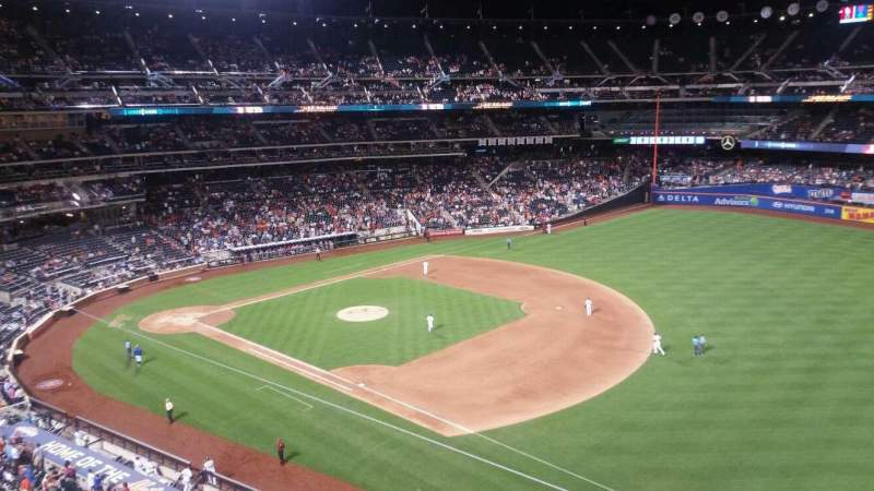 Seating view for Citi Field Section 404 Row 1 Seat 19