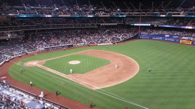 Seating view for Citi Field Section 404 Row 1 Seat 18