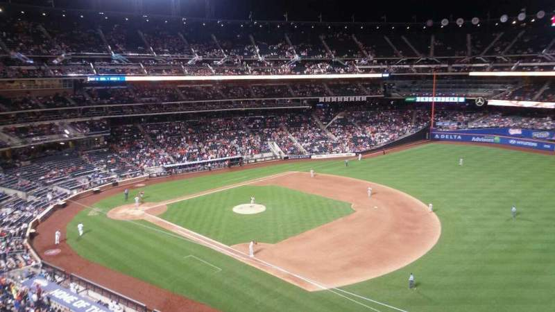 Seating view for Citi Field Section 404 Row 1 Seat 15