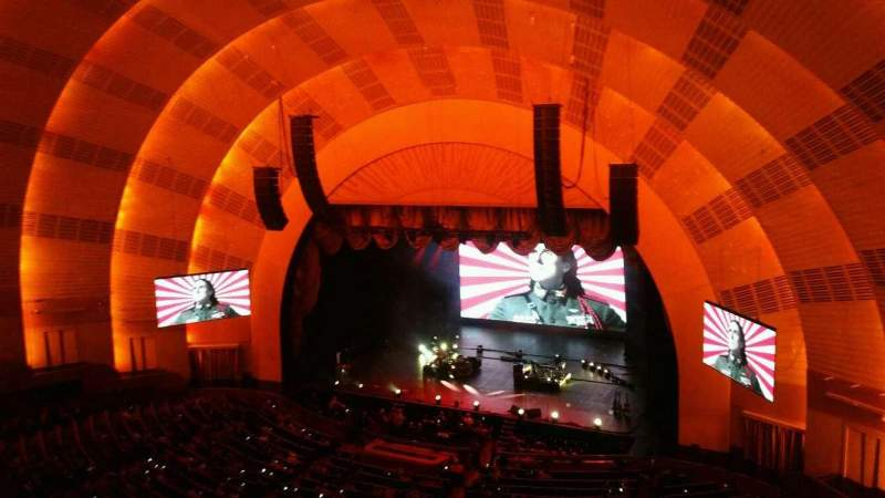 Seating view for Radio City Music Hall Section 3rd Mezzanine 2 Row A Seat 203