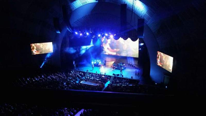 Seating view for Radio City Music Hall Section 3rd Mezzanine 2 Row A Seat 205