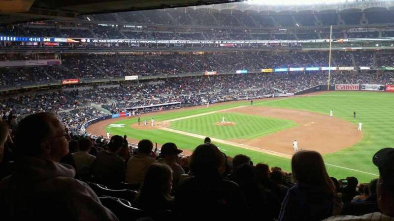 Seating view for Yankee Stadium Section 213 Row 23 Seat 10