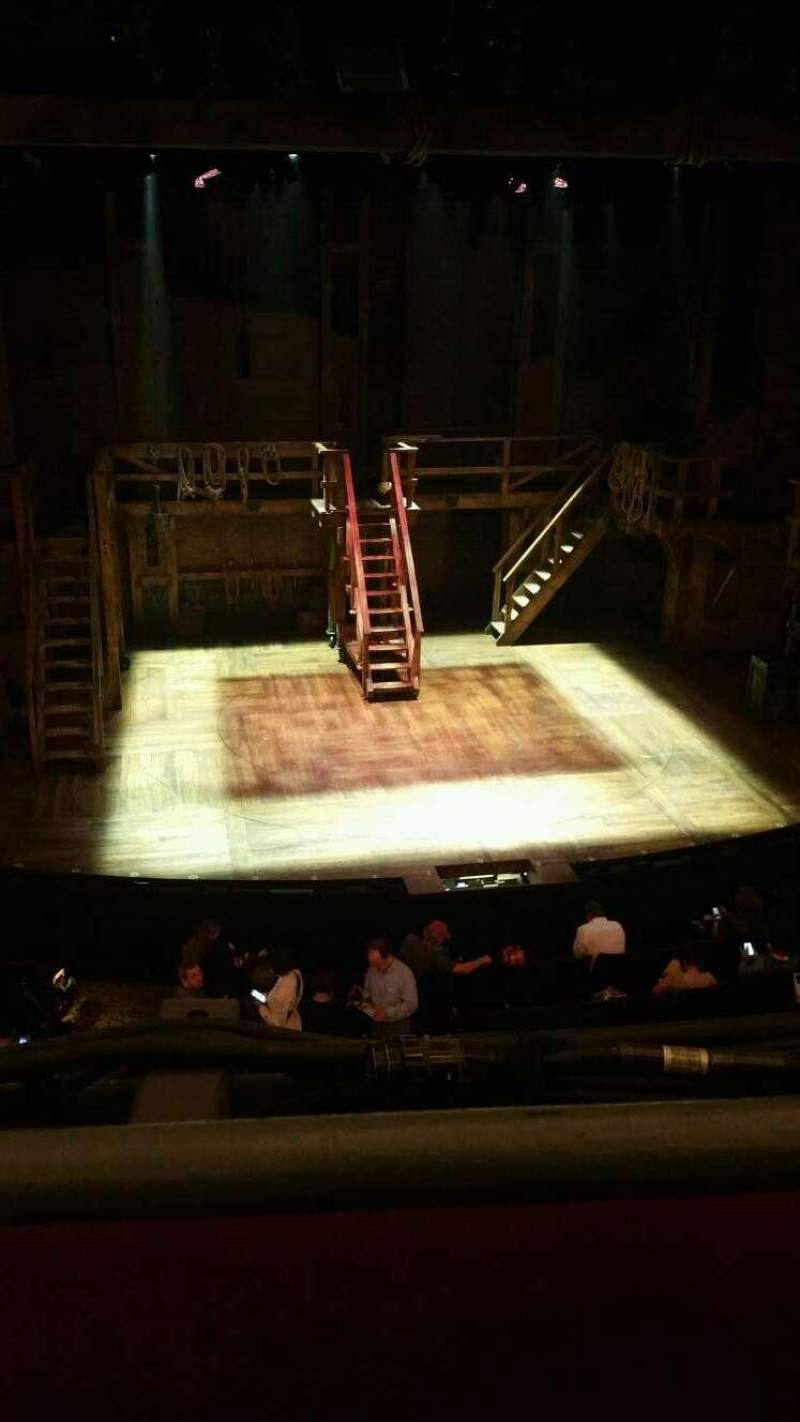 Seating view for Richard Rodgers Theatre Section FMEZZ Row A Seat 114