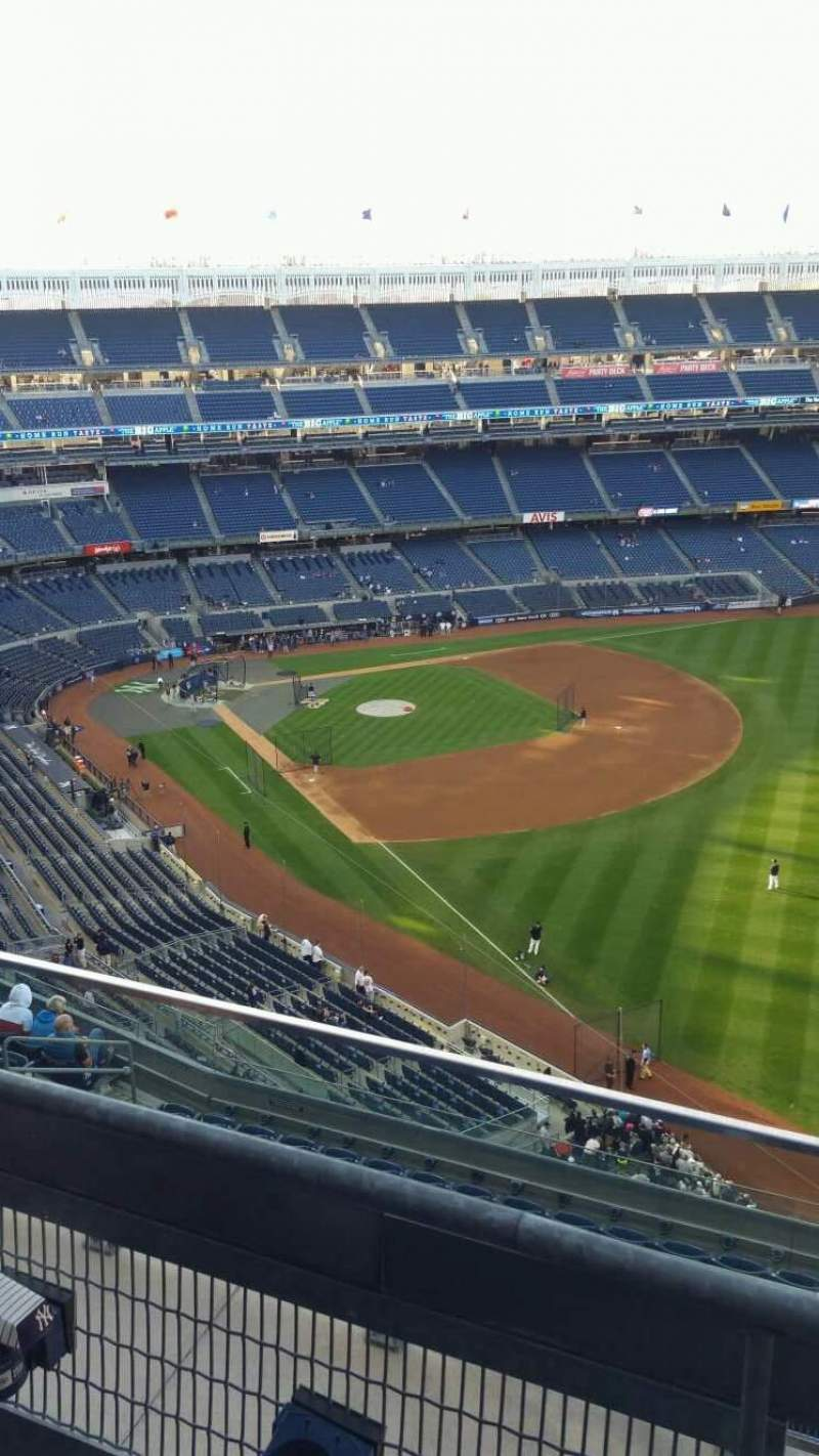 Seating view for Yankee Stadium Section 409 Row 2 Seat 5