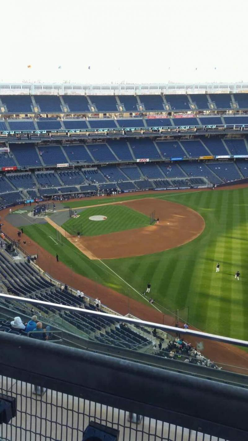 Seating view for Yankee Stadium Section 409 Row 2 Seat 9