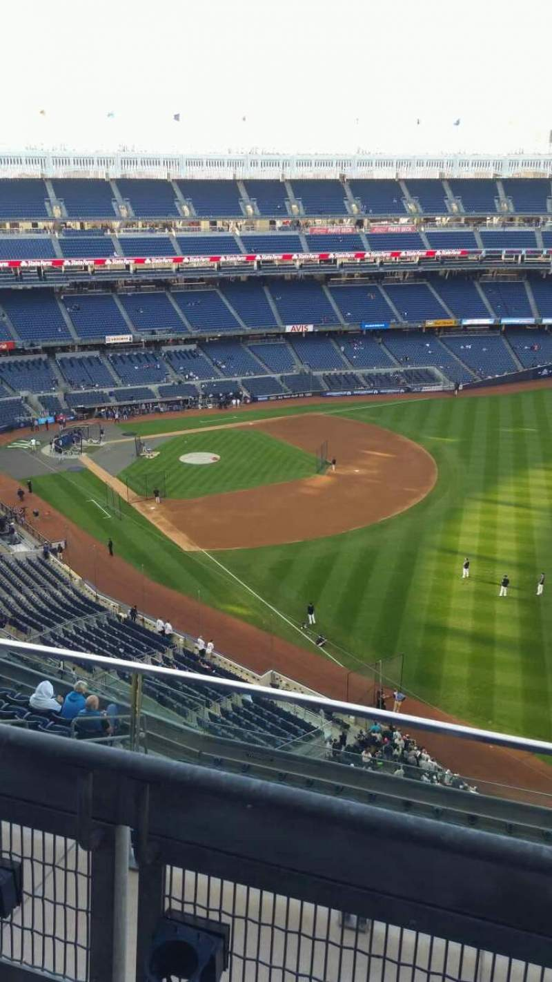 Seating view for Yankee Stadium Section 409 Row 2 Seat 10
