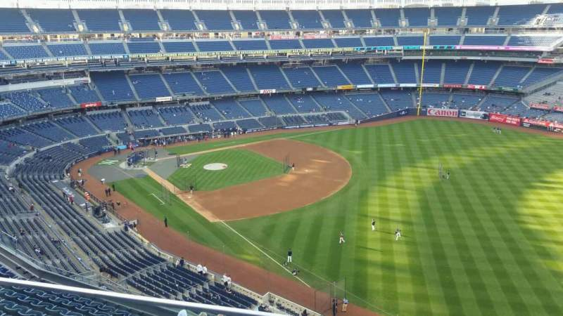 Seating view for Yankee Stadium Section 409 Row 2 Seat 14