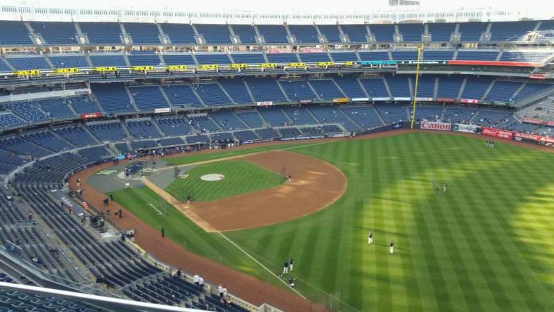 Seating view for Yankee Stadium Section 409 Row 2 Seat 15
