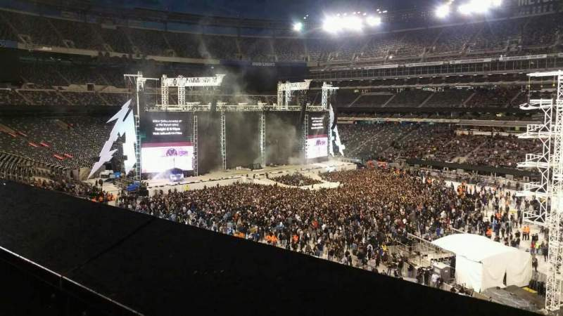 Seating view for MetLife Stadium Section 234 Row 1 Seat 15