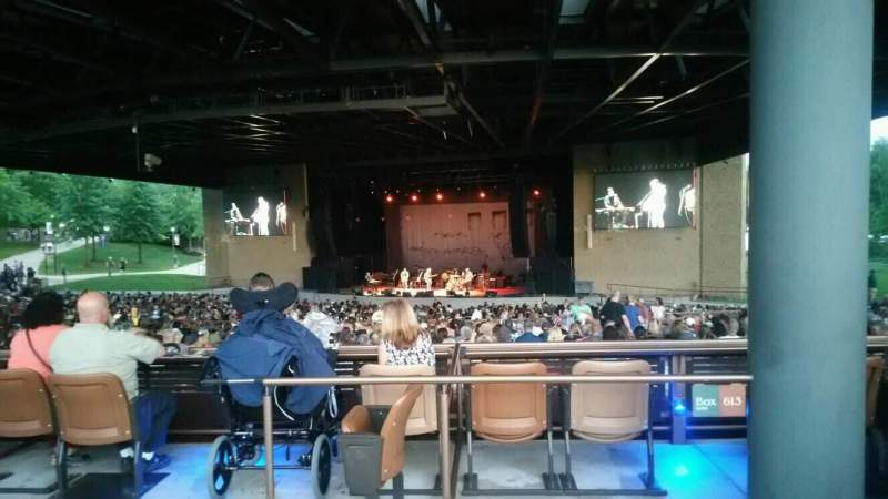 Bethel Woods Center for the Arts, section: 14, row: A, seat: 22