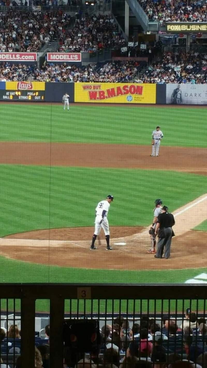 Yankee Stadium Section 121bs Row 17s Seat 2 New York