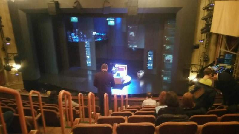 Seating view for Music Box Theatre Section Mezzanine Row J Seat 6