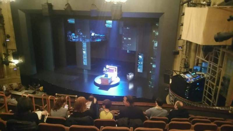 Seating view for Music Box Theatre Section Mezzanine Row J Seat 16
