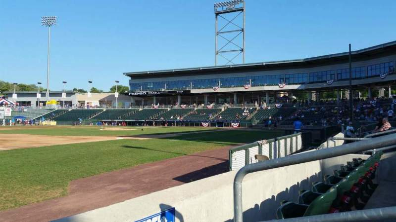 Palisades Credit Union Park, section: 117, row: D, seat: 3