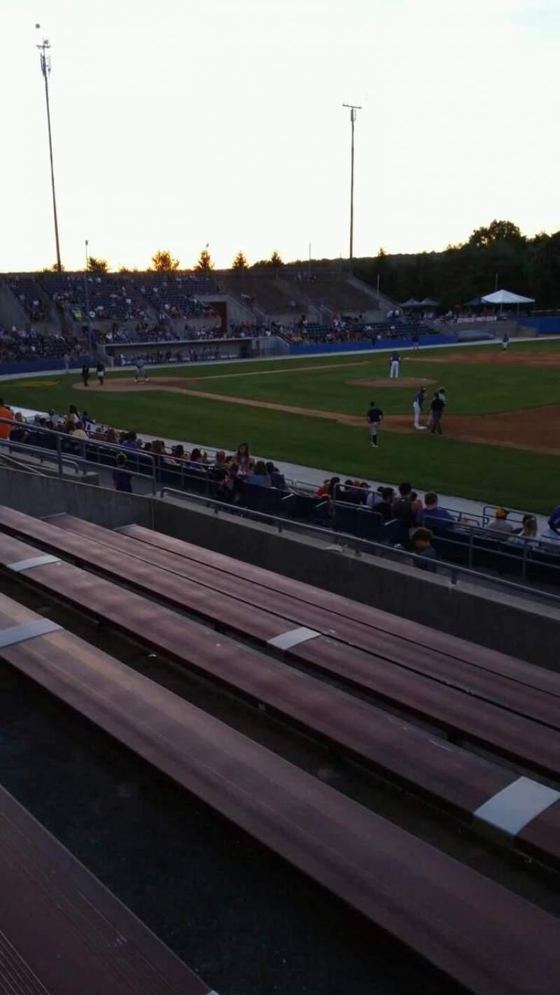 Skylands Stadium, section: 1, row: 14, seat: 3