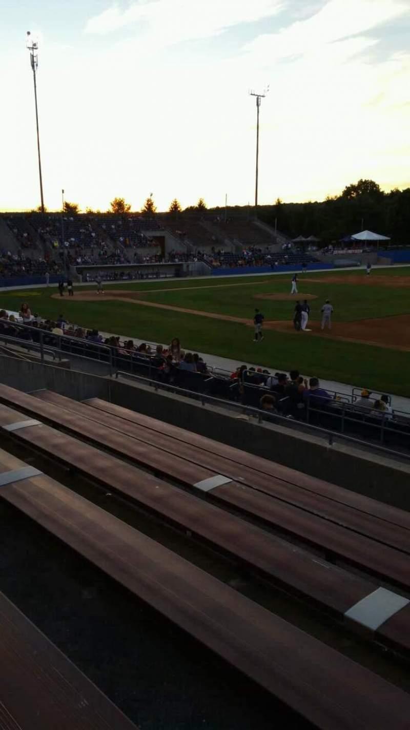 Skylands Stadium, section: 1, row: 14, seat: 4