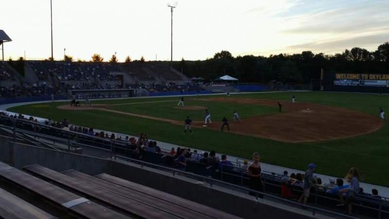 Skylands Stadium, section: 1, row: 14, seat: 6