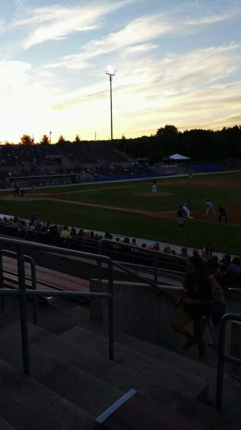 Skylands Stadium, section: 1, row: 14, seat: 18