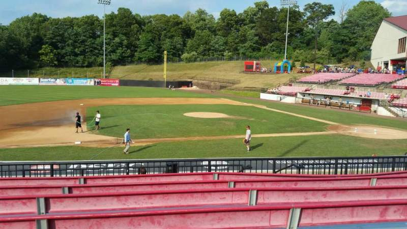 Seating view for Yogi Berra Stadium Section DD Row 7 Seat 9