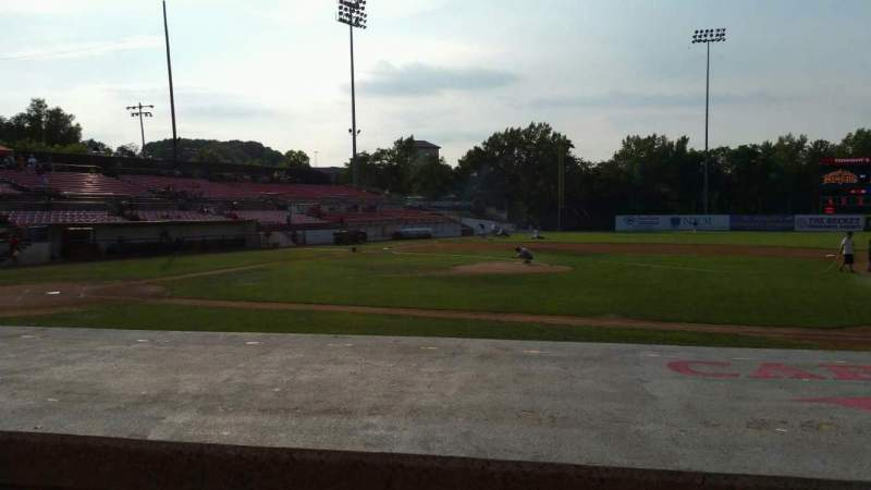 Seating view for Yogi Berra Stadium Section L Row 5 Seat 13