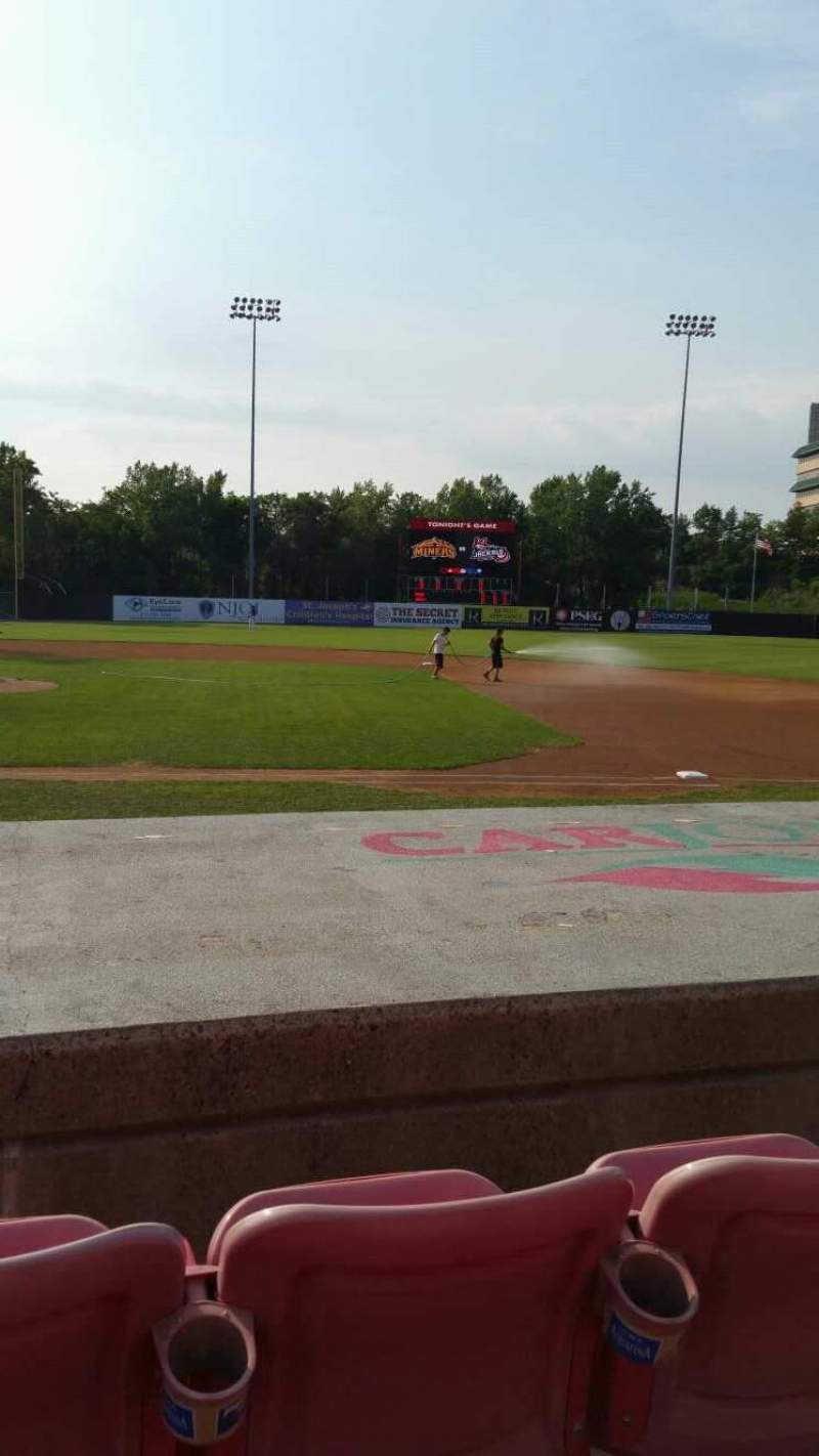 Seating view for Yogi Berra Stadium Section L Row 5 Seat 12