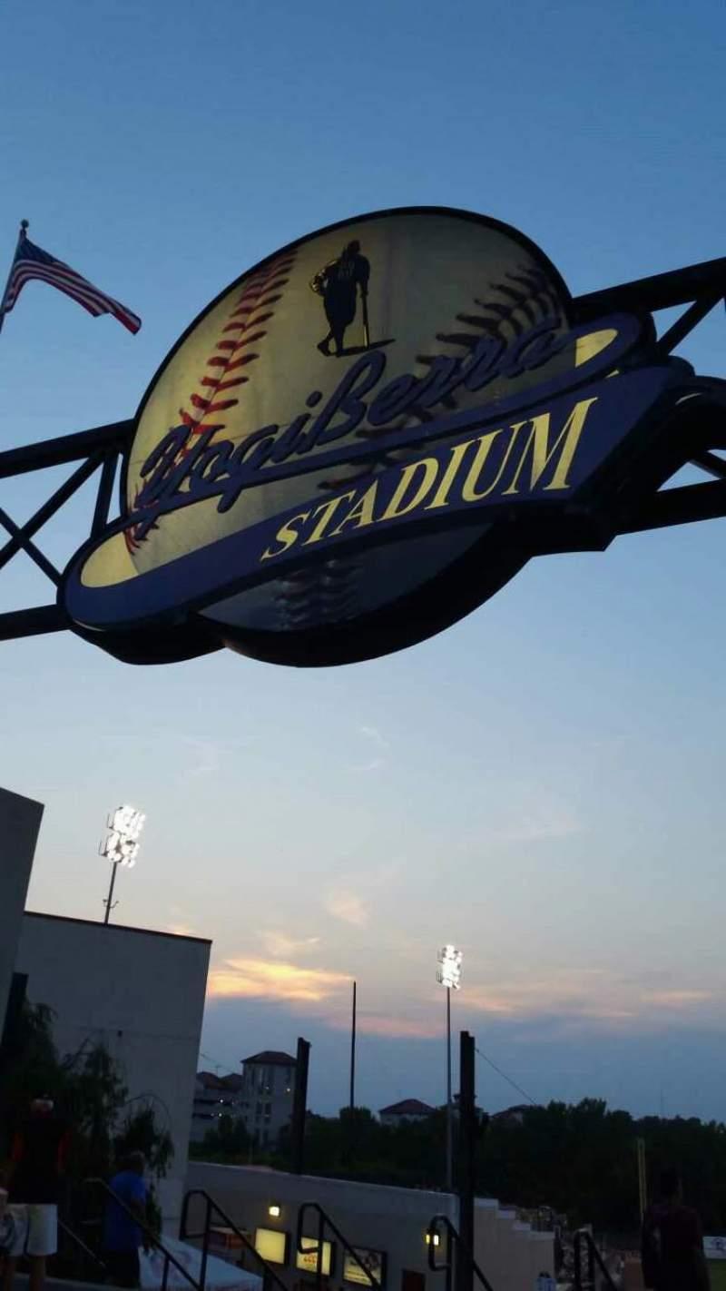 Seating view for Yogi Berra Stadium