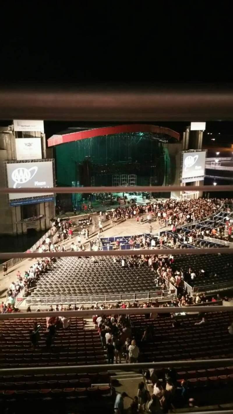 Jones Beach Theater, section: 26, row: A, seat: 10