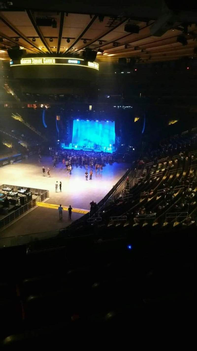 Madison Square Garden, section: 206, row: 5, seat: 12
