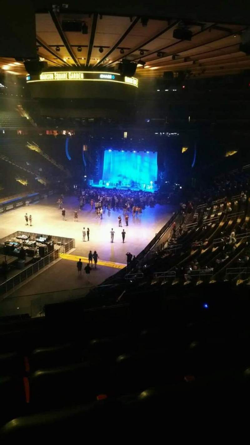 Madison Square Garden, section: 206, row: 5, seat: 11