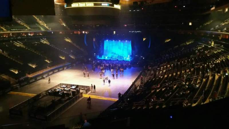 Madison Square Garden, section: 206, row: 5, seat: 10