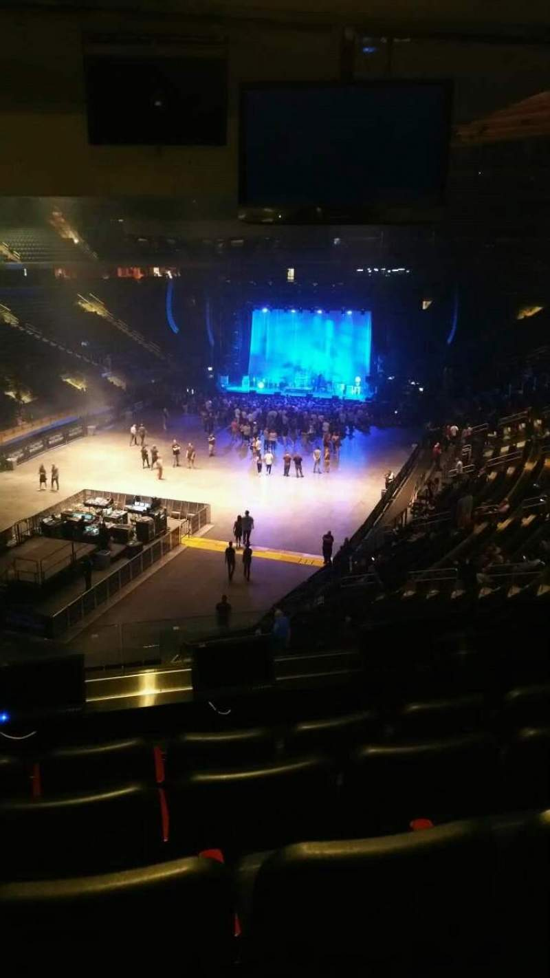 Madison Square Garden, section: 206, row: 5, seat: 6