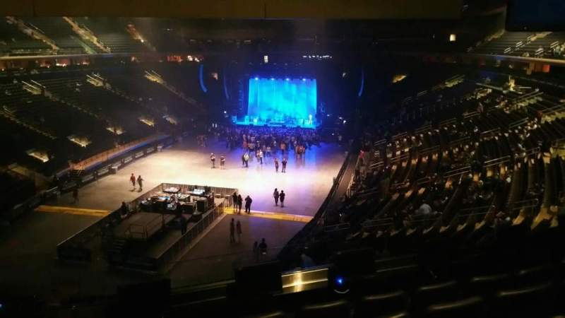 Madison Square Garden, section: 206, row: 5, seat: 1