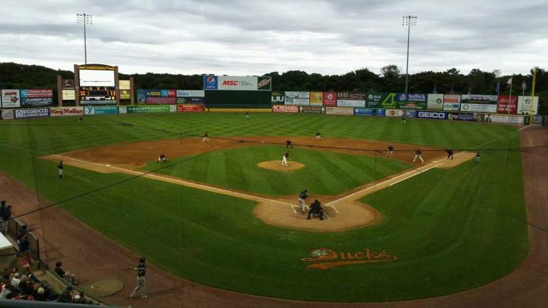 Seating view for Bethpage Ballpark Section 402 Row A Seat 13