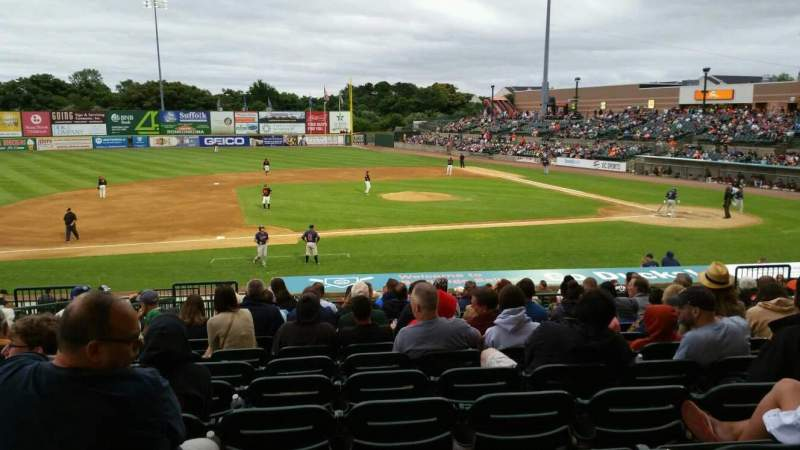 Seating view for Bethpage Ballpark Section 207 Row V Seat 16