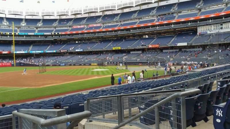 Yankee Stadium, section: 127B, row: 5, seat: 2