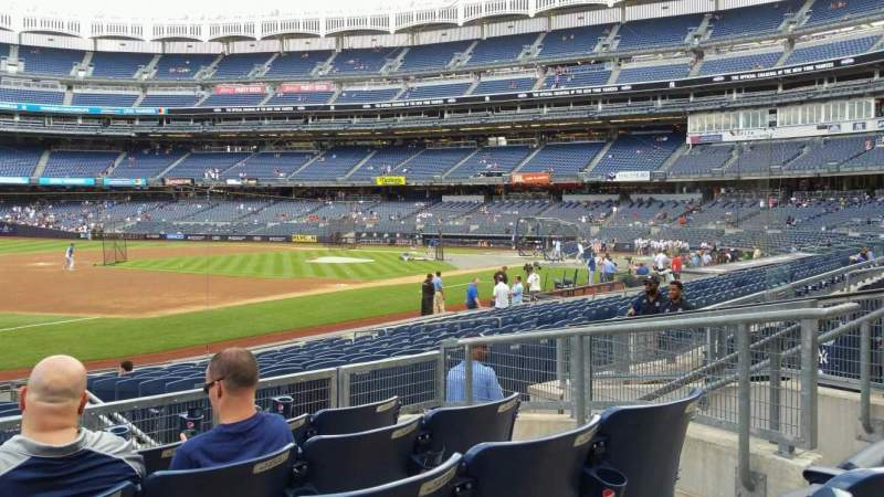 Yankee Stadium, section: 127B, row: 5, seat: 8