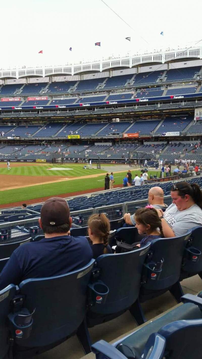 Yankee Stadium, section: 127B, row: 5, seat: 13