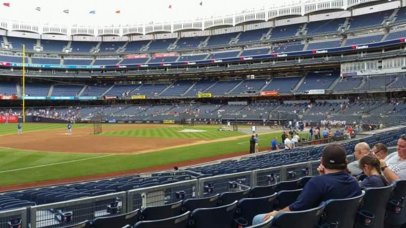 Yankee Stadium, section: 127B, row: 5, seat: 16