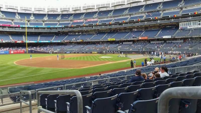 Yankee Stadium, section: 128, row: 8, seat: 1