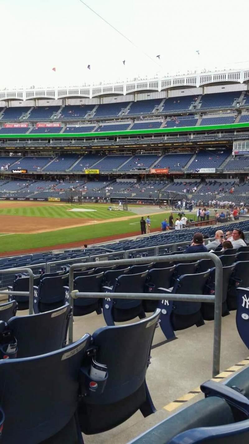 Yankee Stadium, section: 128, row: 8, seat: 4