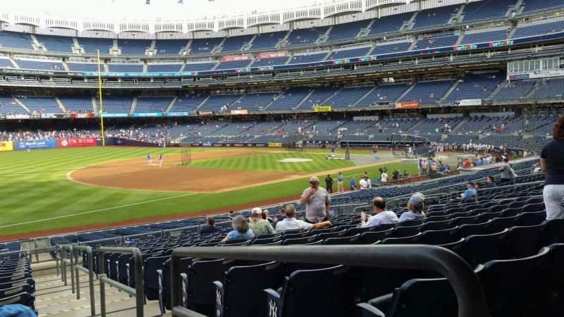 Yankee Stadium, section: 128, row: 16, seat: 1