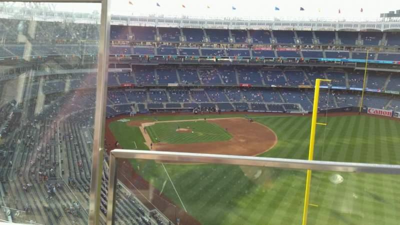Yankee Stadium, section: 407B, row: 1, seat: 20