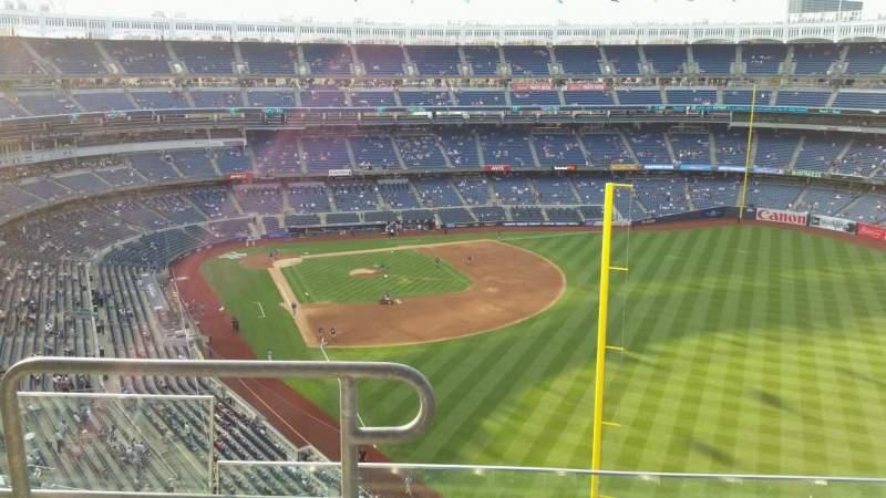 Yankee Stadium, section: 407B, row: 4, seat: 16