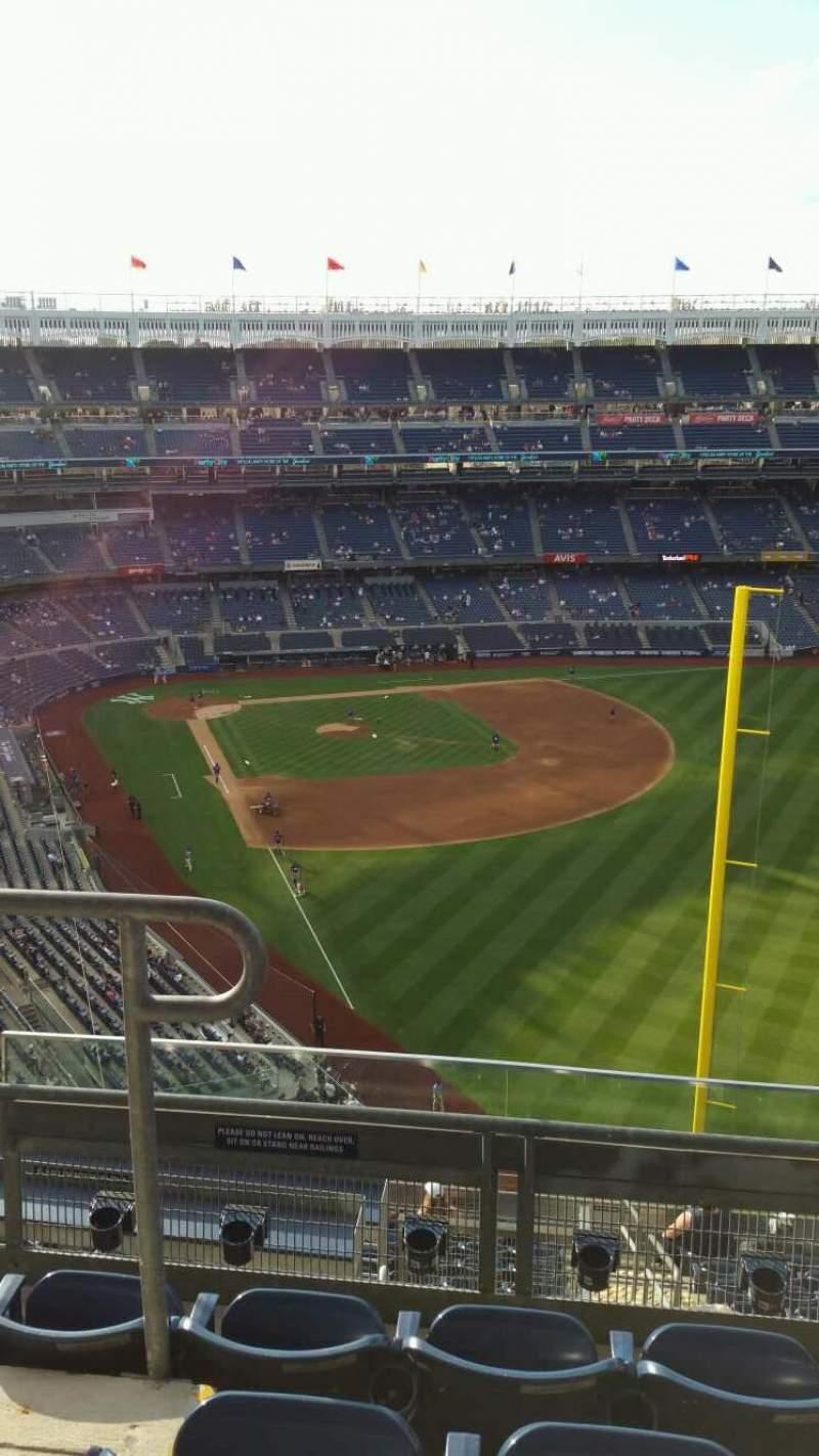 Yankee Stadium, section: 407B, row: 4, seat: 15