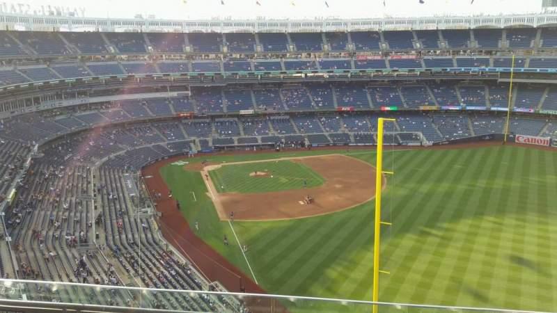 Yankee Stadium, section: 407B, row: 4, seat: 11