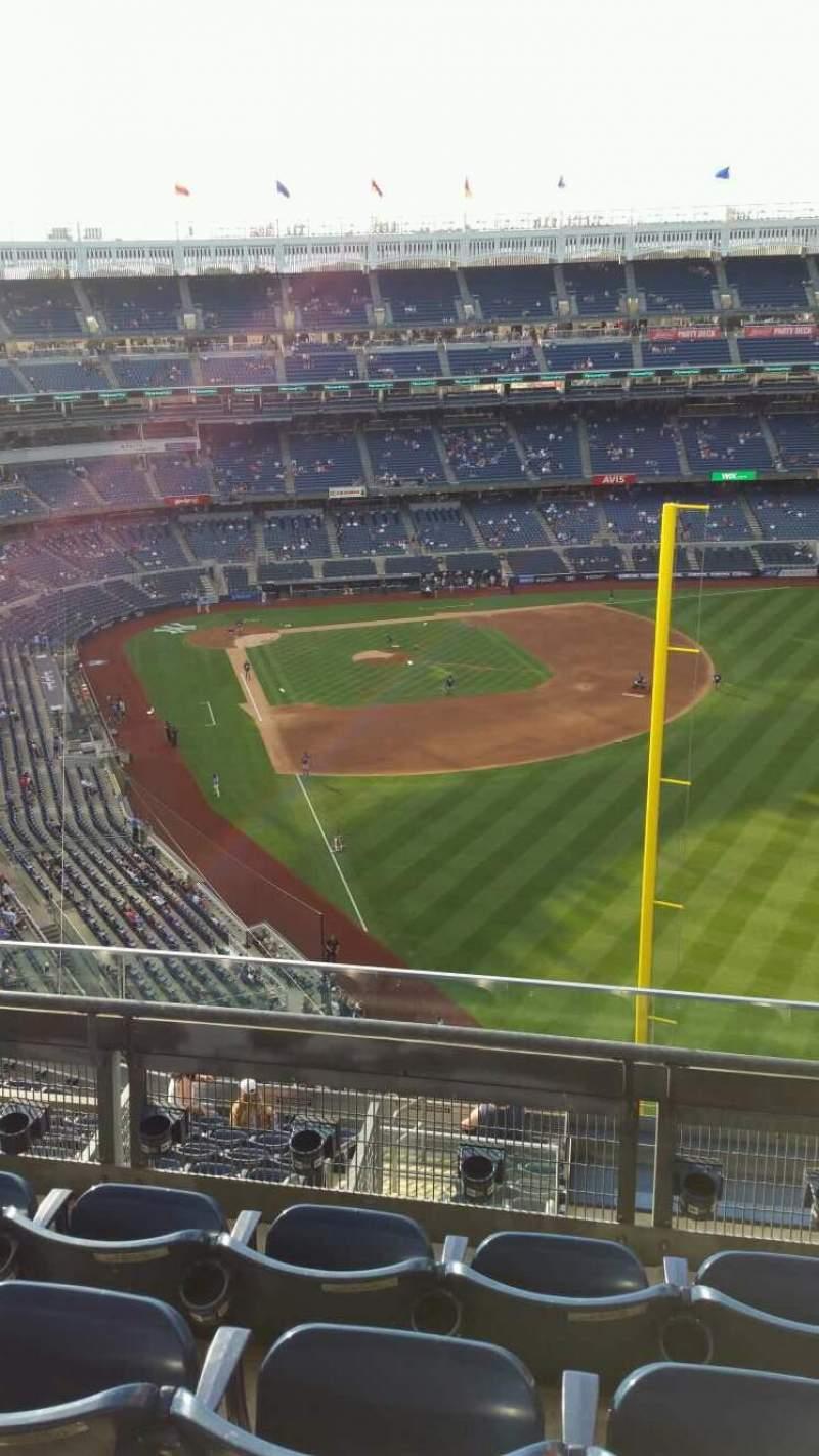 Yankee Stadium, section: 407B, row: 4, seat: 9