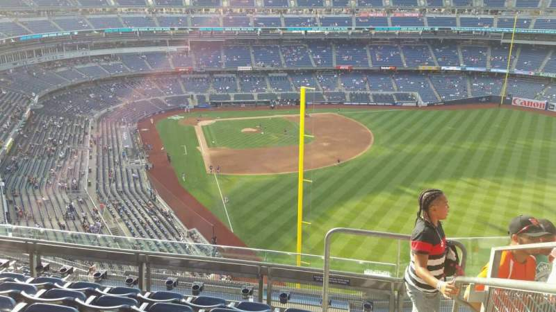 Yankee Stadium, section: 407B, row: 6, seat: 1